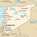CIA Map of Syria
